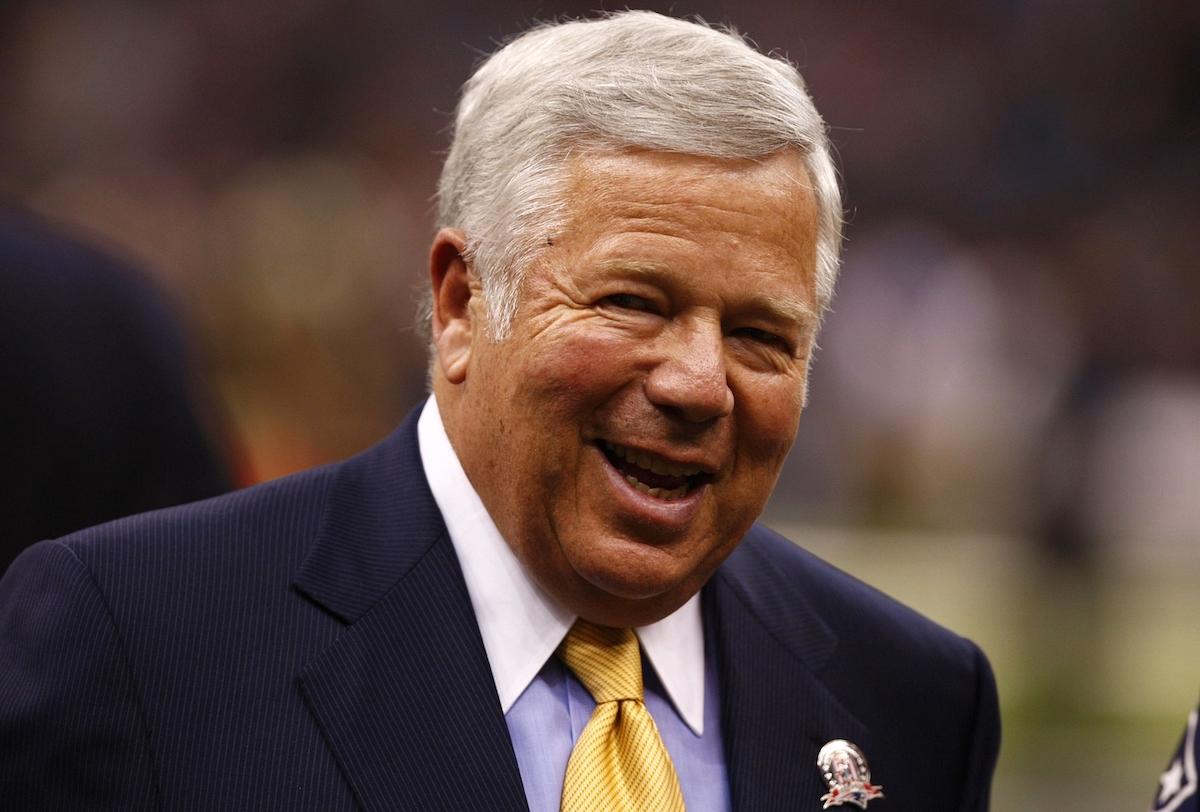 Patriots owner Robert Kraft in 2009