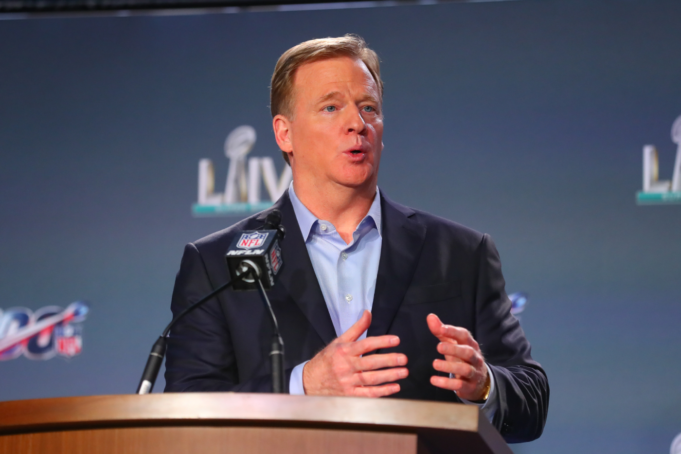 Roger Goodell is taking some heat for his latest COVID-19 decision.