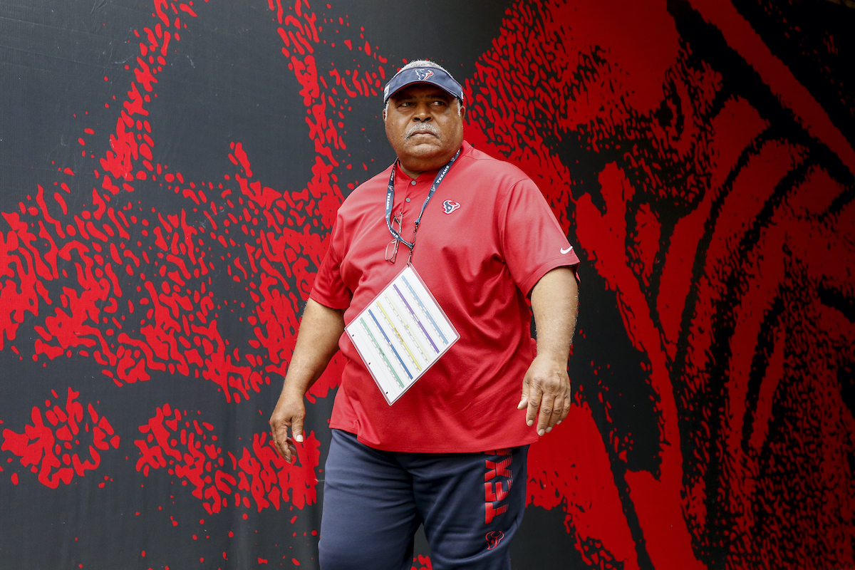 Romeo Crennel of the Houston Texans