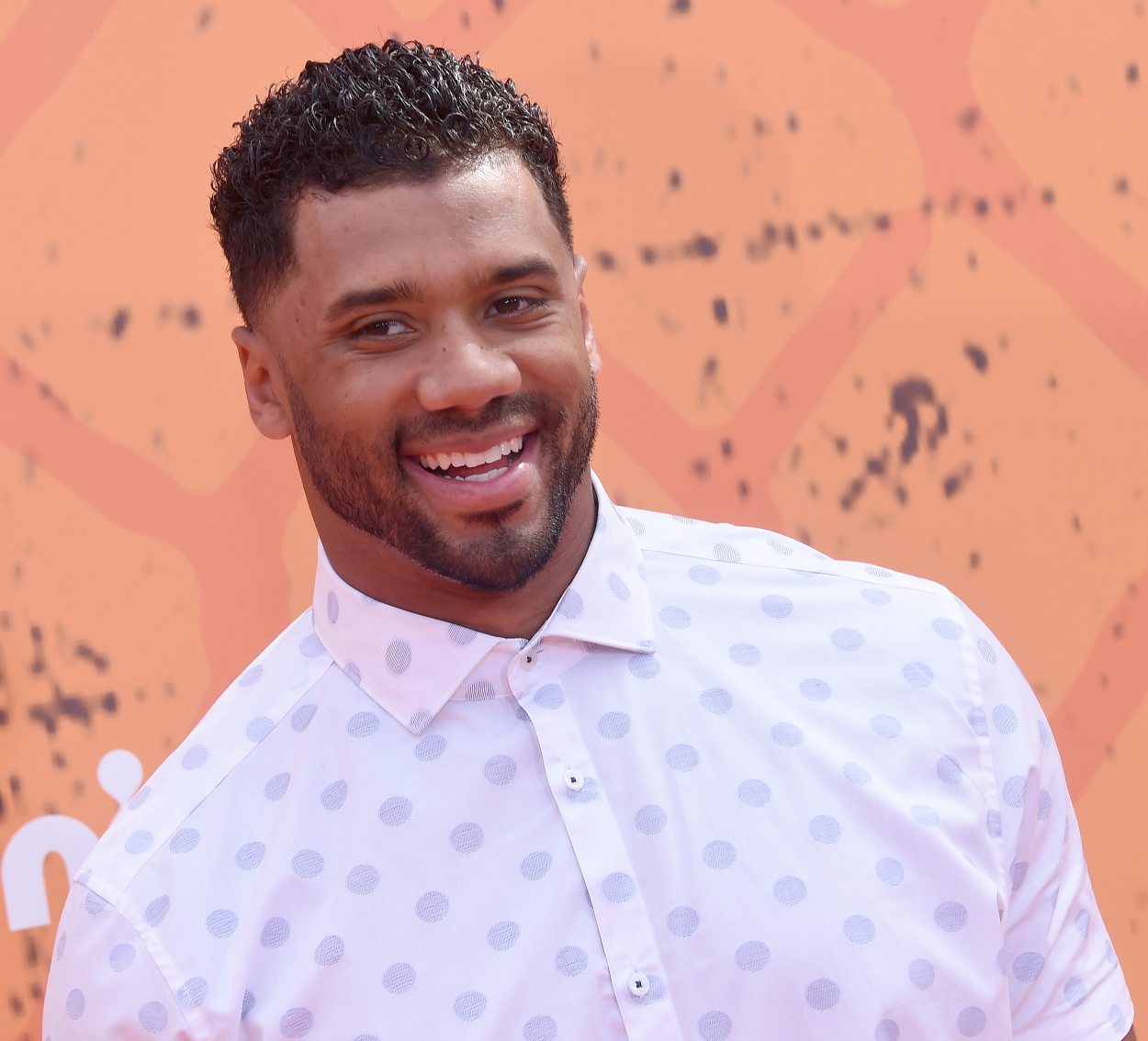 Russell Wilson attends the Kids Choice Sports Awards