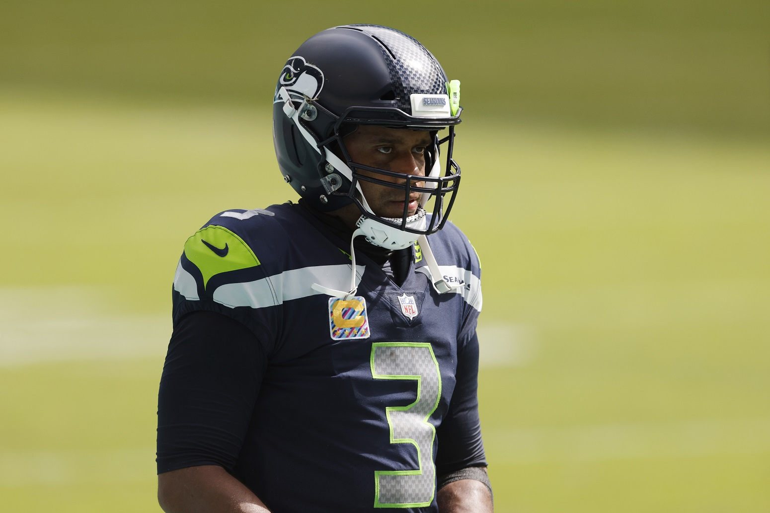 Russell Wilson Seahawks Cam Newton COVID-19