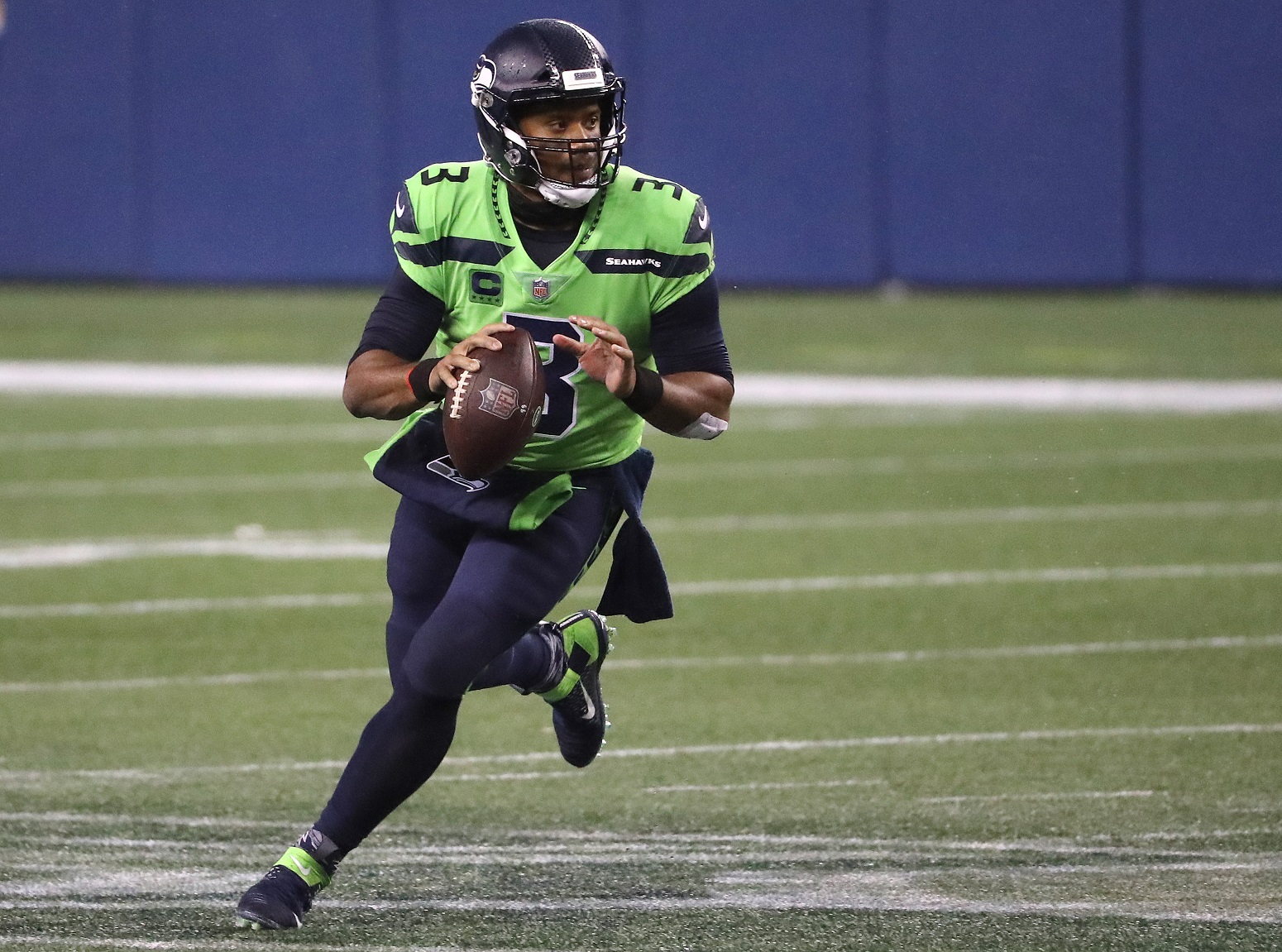 Russell Wilson Seahawks Madden honor