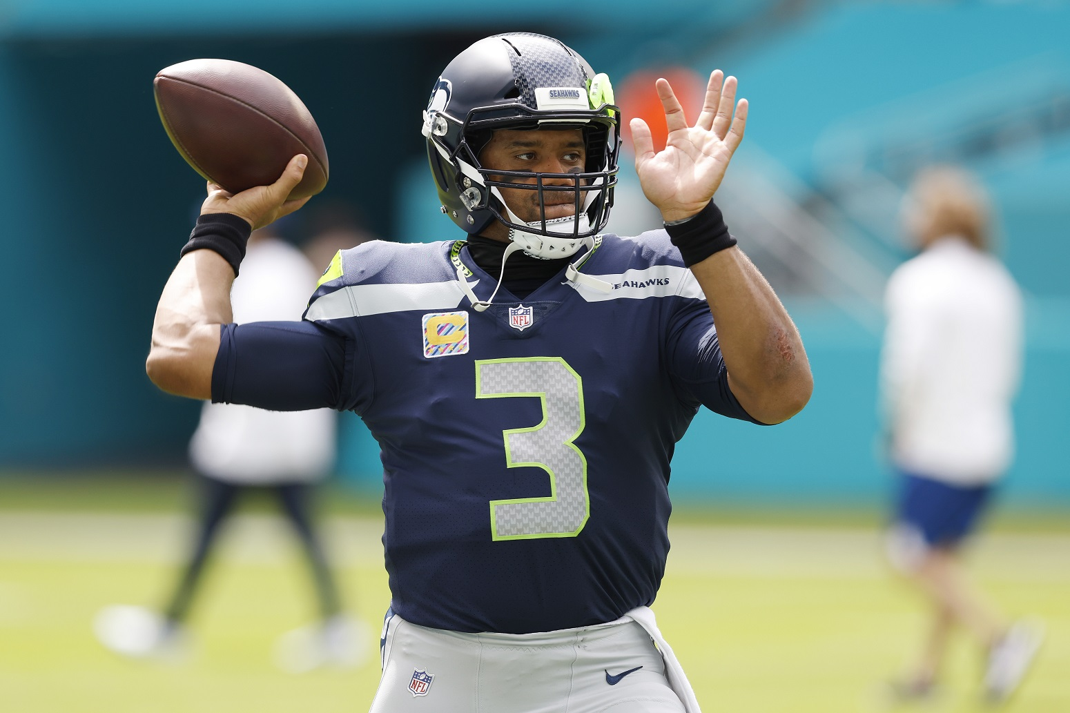 Russell Wilson why playing best football