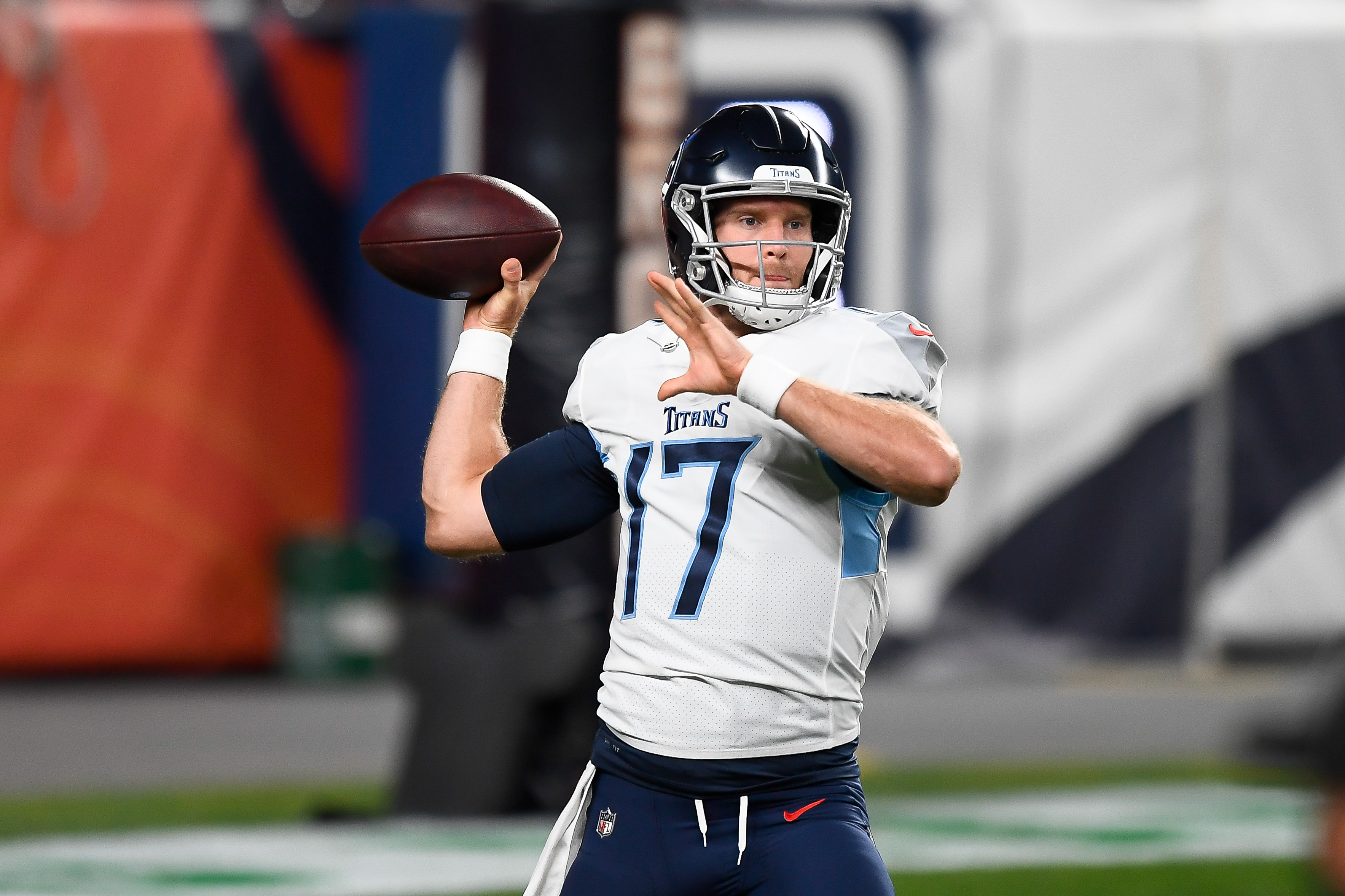 Ryan Tannehill has the Tennessee Titans at 4-0.