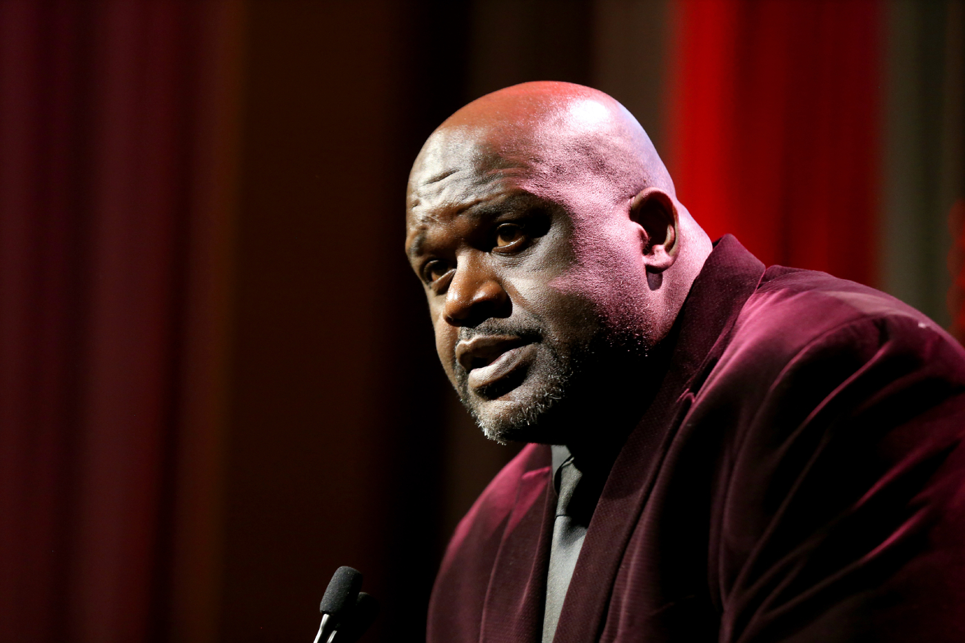 Shaquille O'Neal revealed recently that he voted for the first time ever. Now, he is making his political allegiances clear.