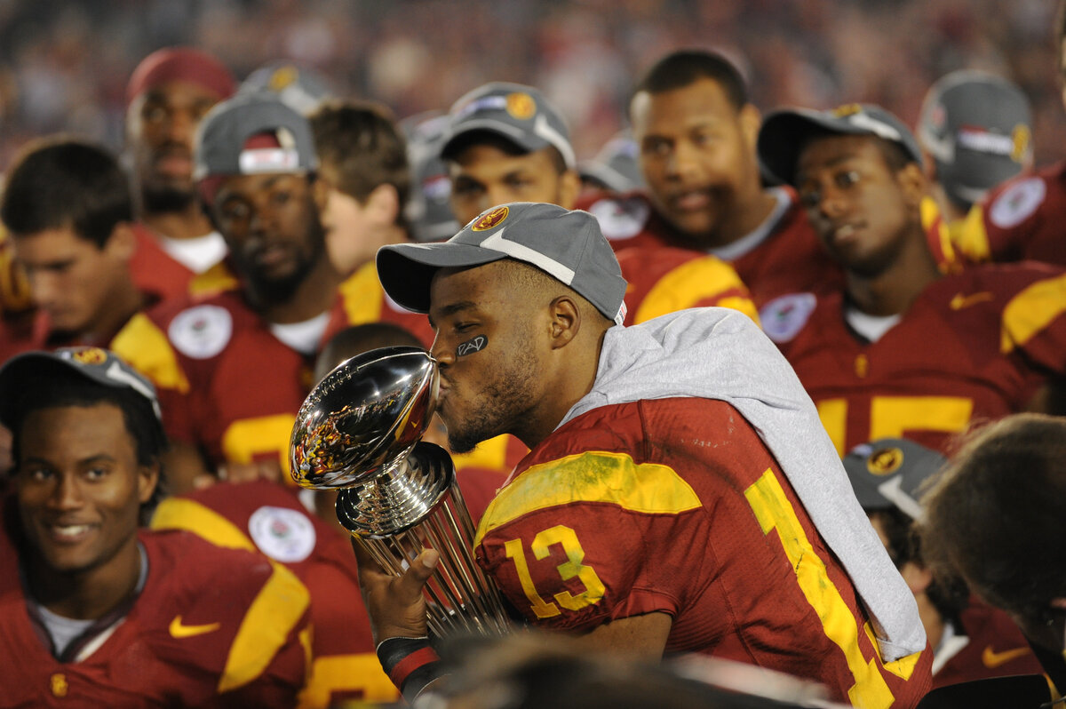 Former USC running back Stafon Johnson looked prepared to have a successful NFL career before a fluke throat injury.