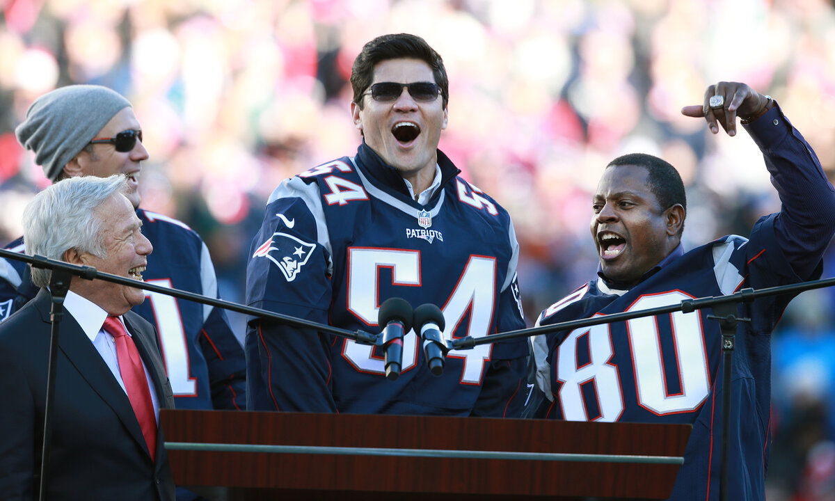 New England Patriots great Tedy Bruschi has had two strokes since 2005. Bruschi overcame those health problems to star on ESPN's NFL coverage.