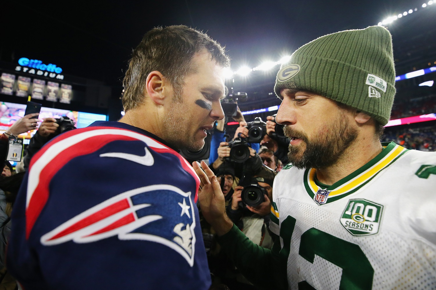 Tom Brady Aaron Rodgers