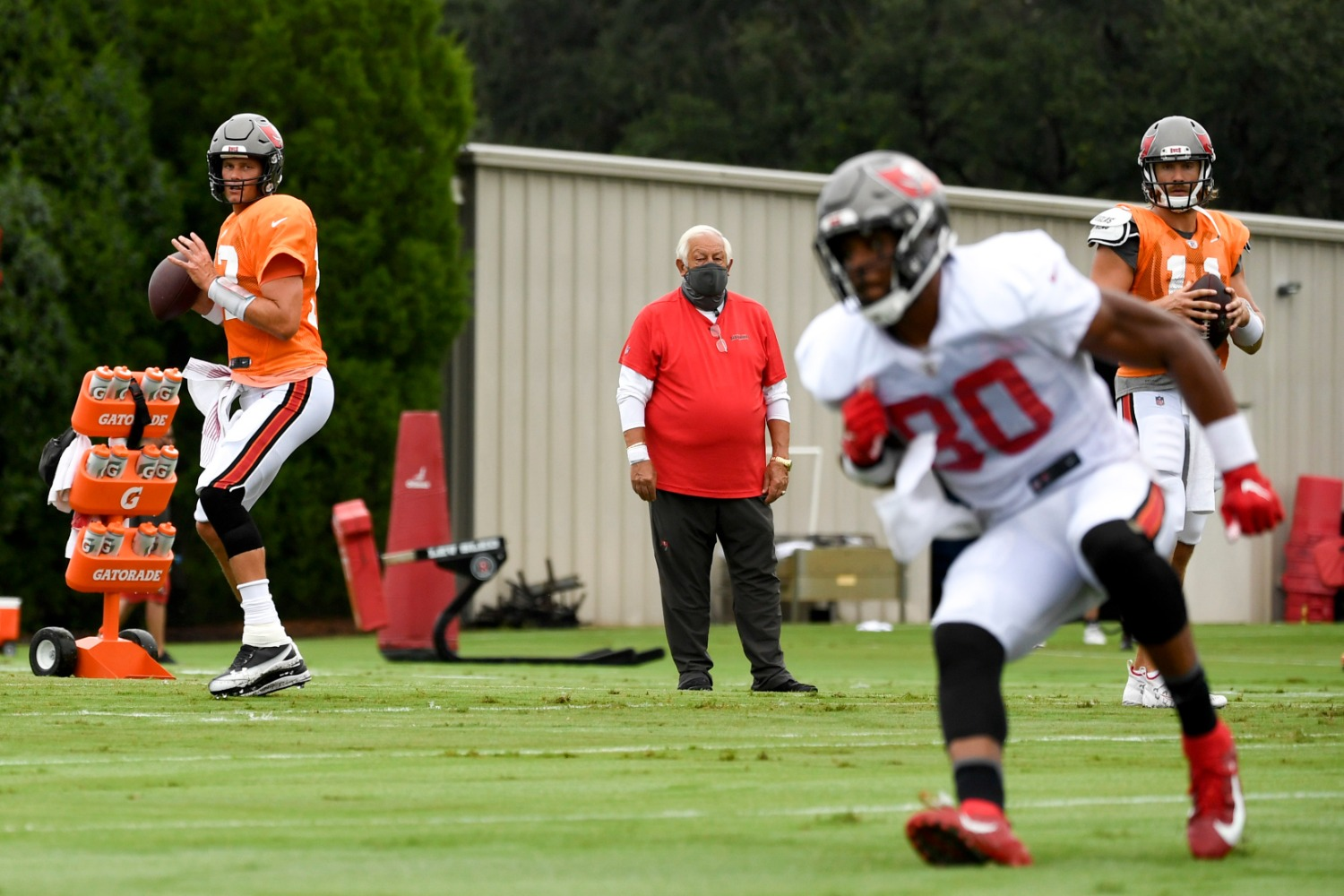 Tom Brady just suffered a potential setback to his Super Bowl dream with Buccaneers tight end O.J. Howard sustaining an Achilles injury that will likely end his season.