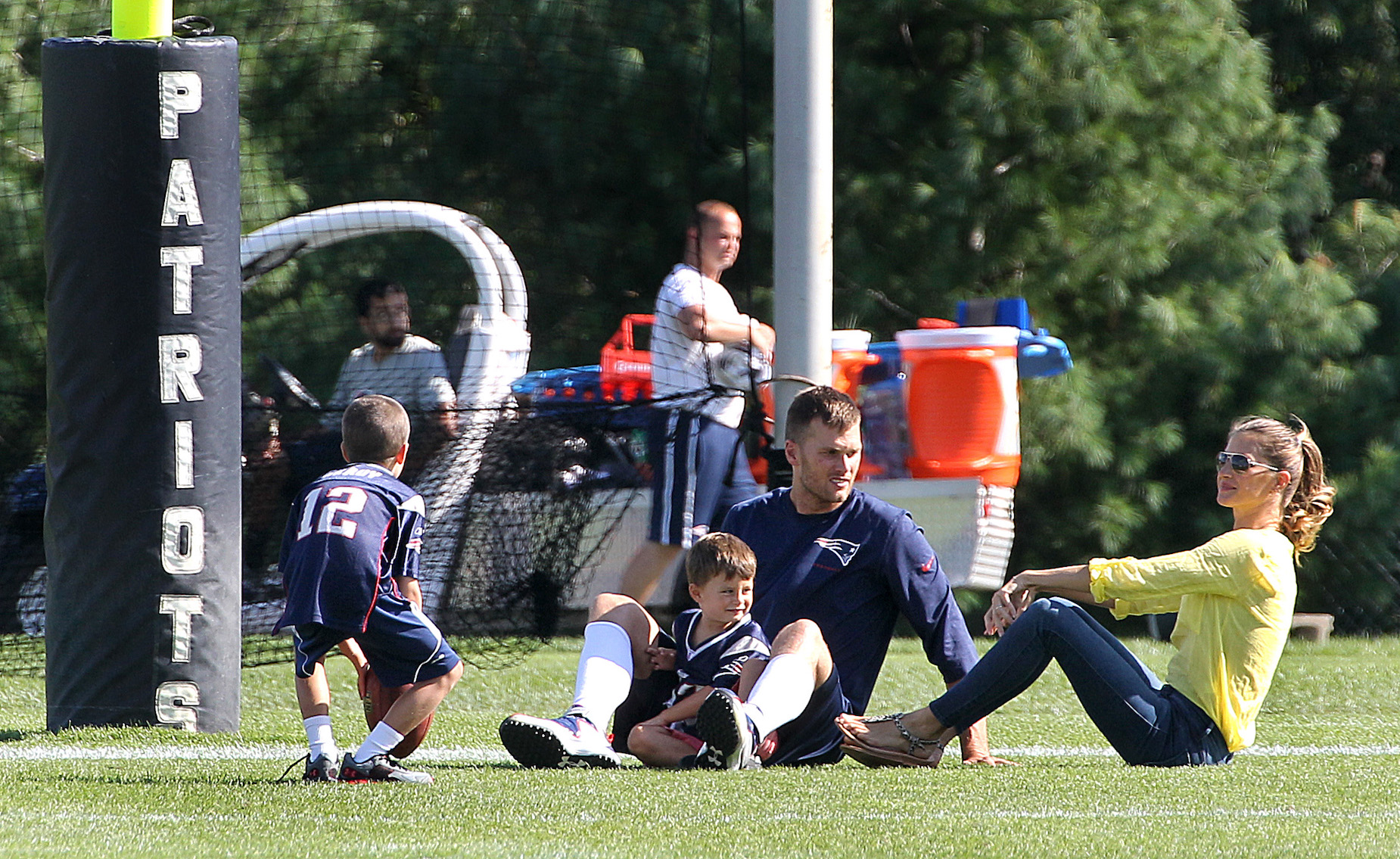 Will Tom Brady's sons play football like their old man?