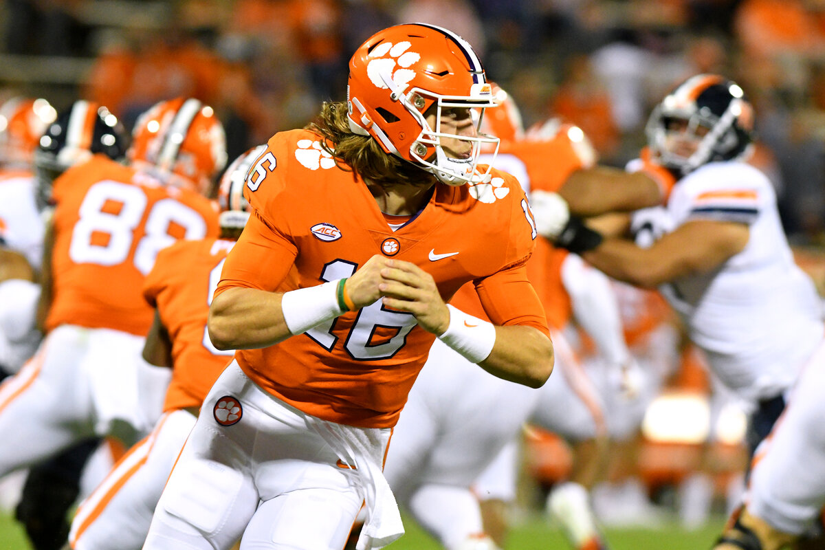 Clemson quarterback Trevor Lawrence continues to play at a high level. NBC's Cris Collinsworth just bestowed the ultimate compliment on Lawrence.