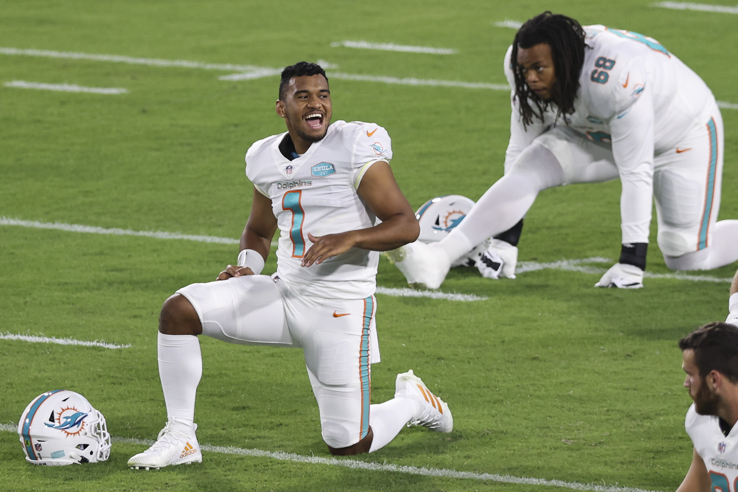 The Dolphins are being ver patient with Tua Tagovailoa.