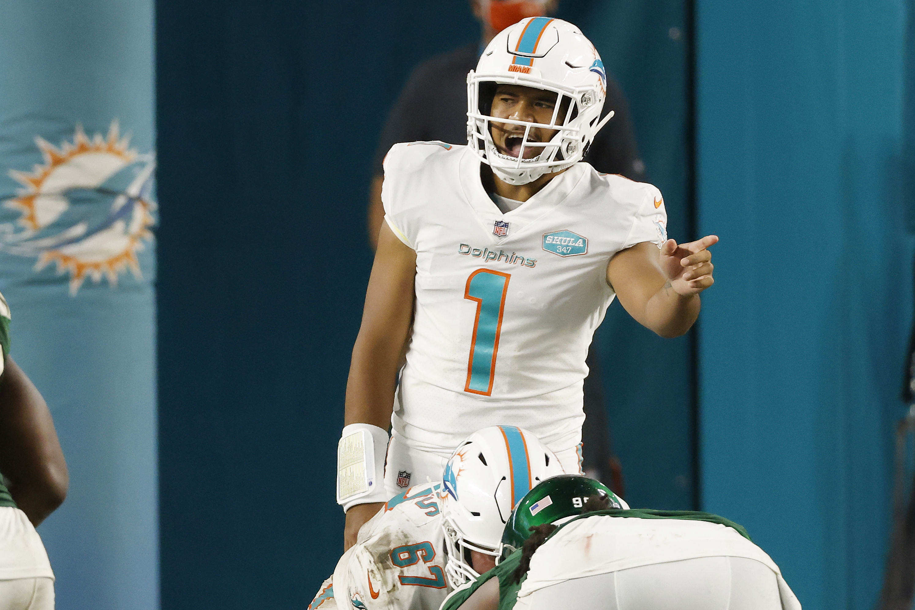 Miami Dolphins quarterback Tua Tagovailoa's full name is Tuanigamanuolepola Tagovailoa. What does the rookie's name mean in Hawaiian?