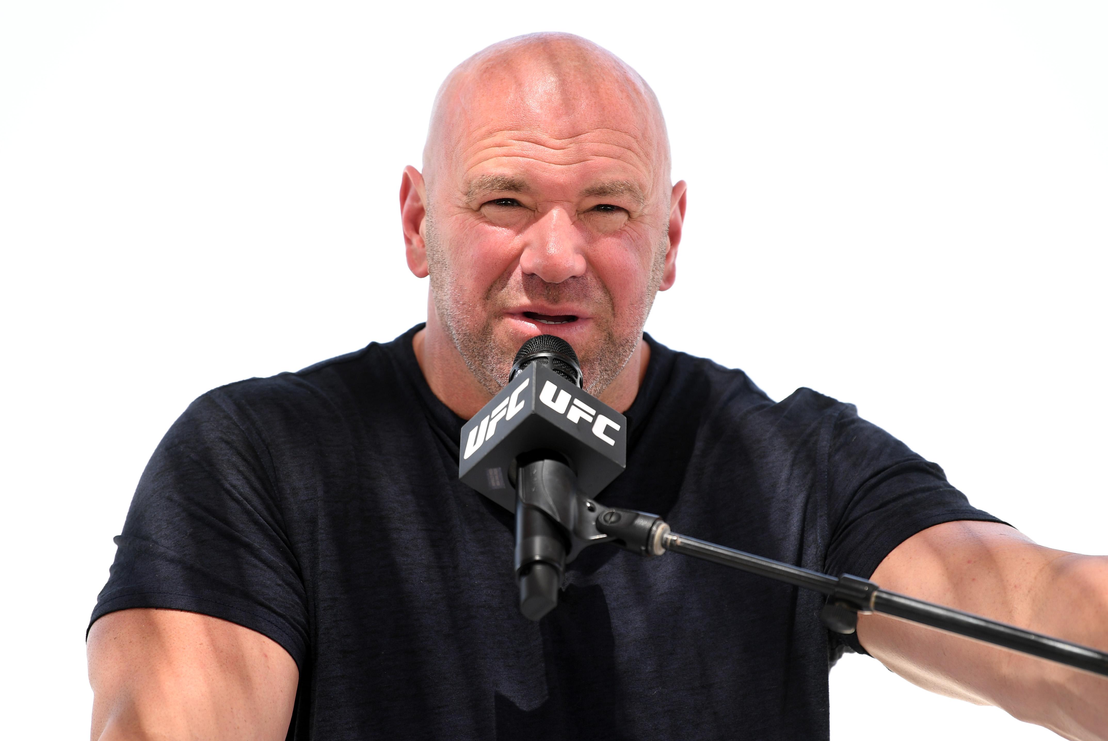 Dana White in 2020