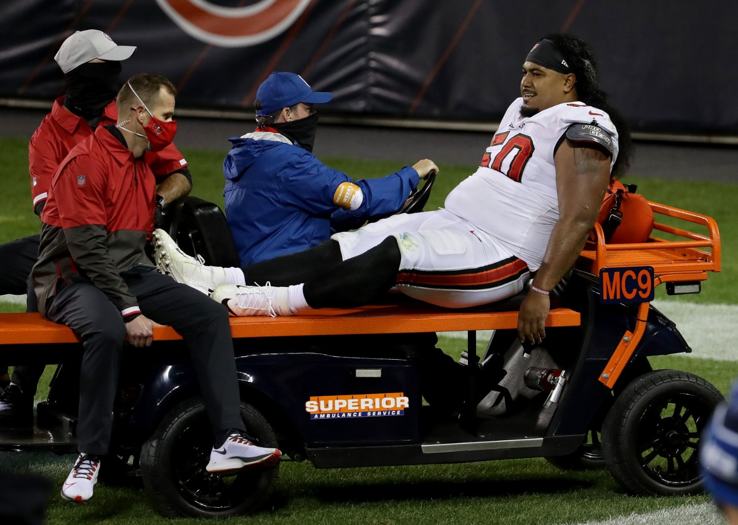 The Tampa Bay Buccaneers suffered a brutal injury blow on Thursday. Breakout star Vita Vea fractured his ankle and is done for the season.
