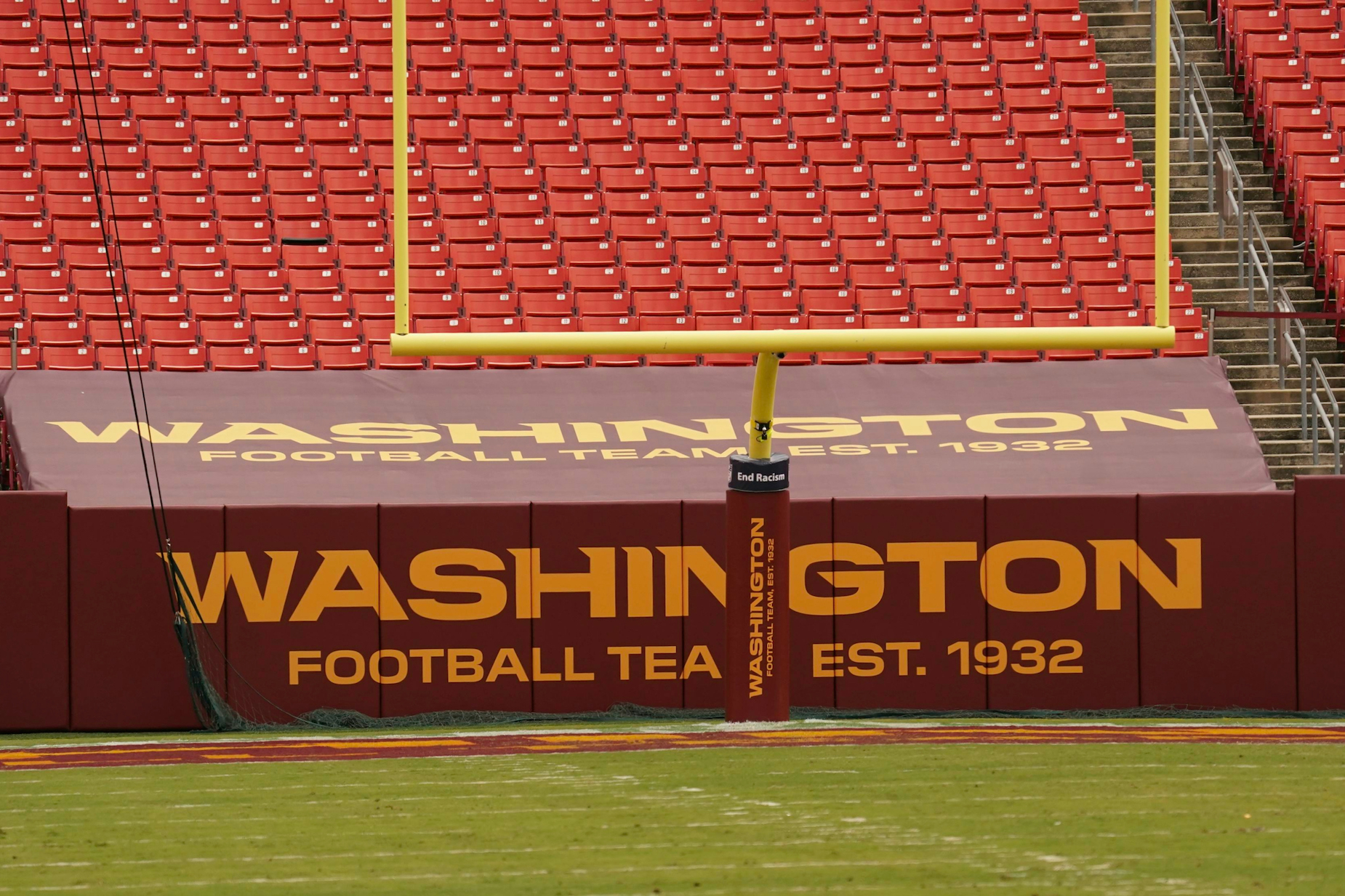 The Washington Football Team provided an encouraging update on their hunt for a new name.