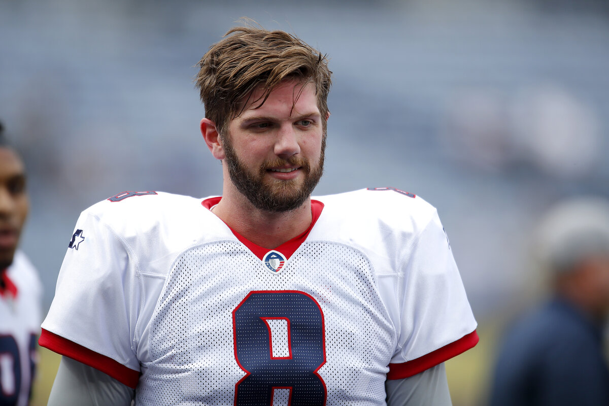 Former Tennessee Titans quarterback Zach Mettenberger, who last played in the AAF in 2019, is now playing in The Spring League. Former Tennessee Titans quarterback Zach Mettenberger, who last played in the AAF in 2019, is now playing in The Spring League.