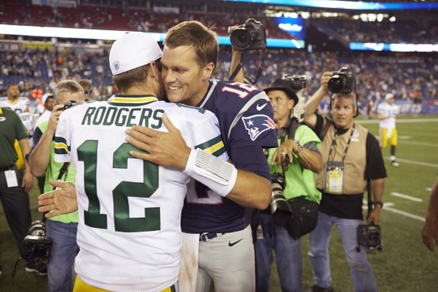 Aaron Rodgers and Tom Brady have had a lot of success throughout their careers