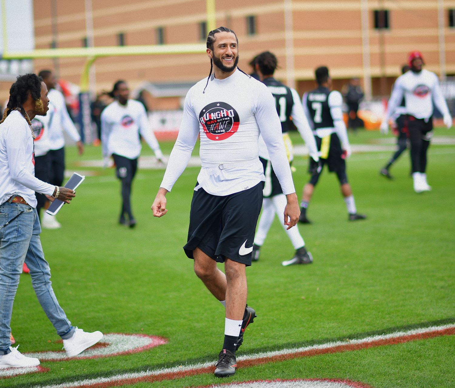 Colin Kaepernick will be inducted into the University of Nevada Athletics Hall of Fame. But will an NFL team give him another chance?