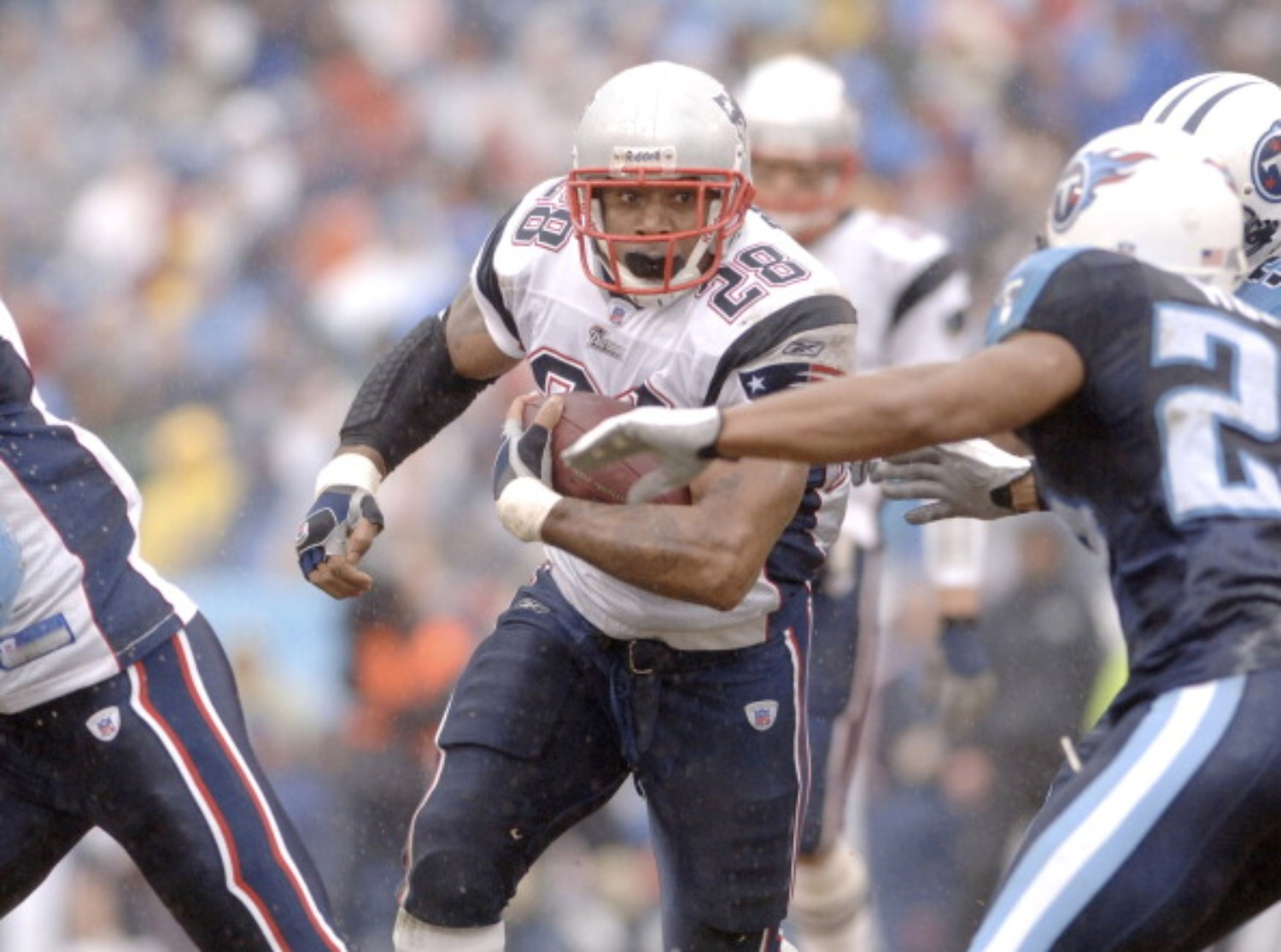 Corey Dillon had a successful career with the New England Patriots