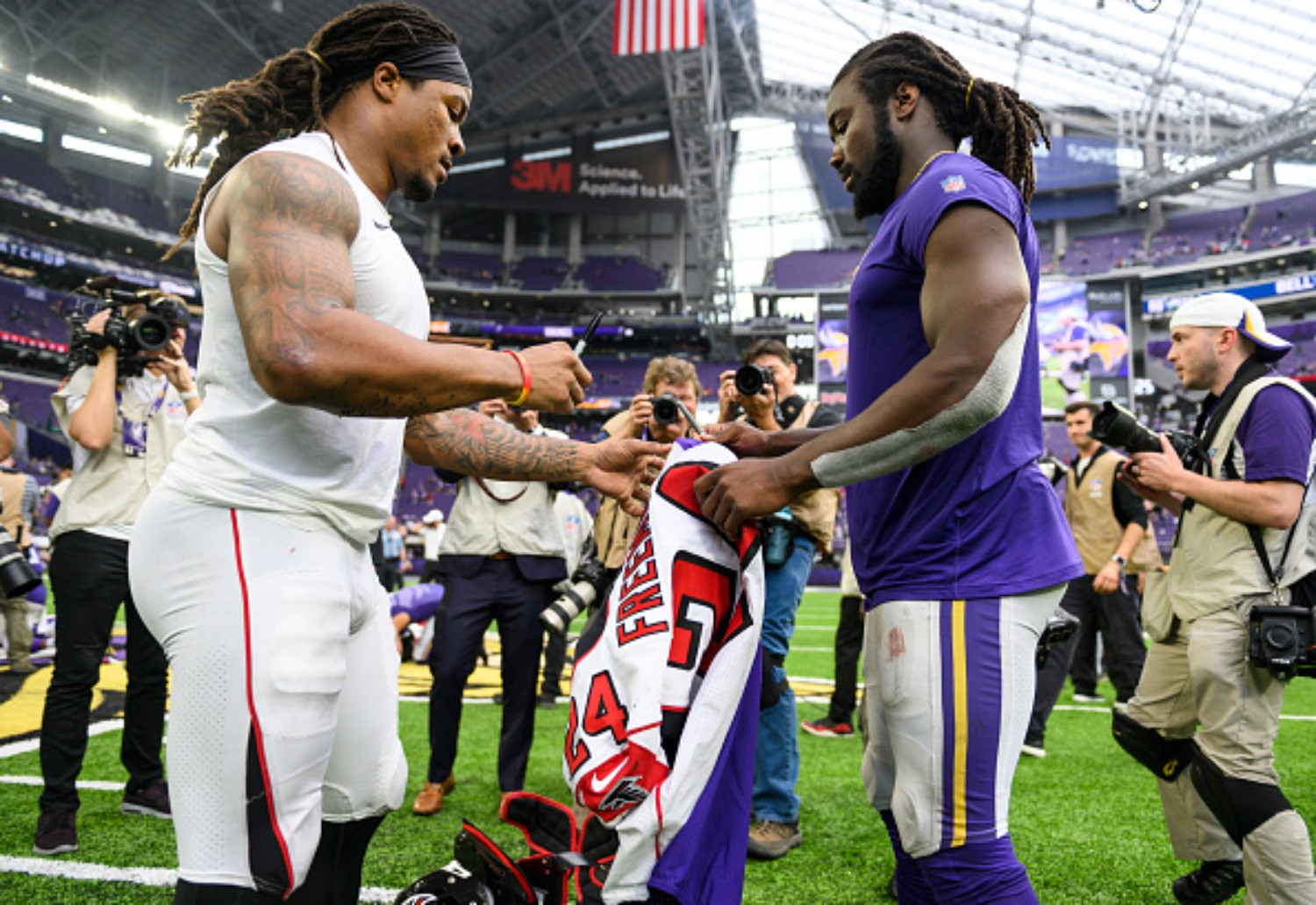 Dalvin Cook and Devonta Freeman have developed a strong relationship throughout the years