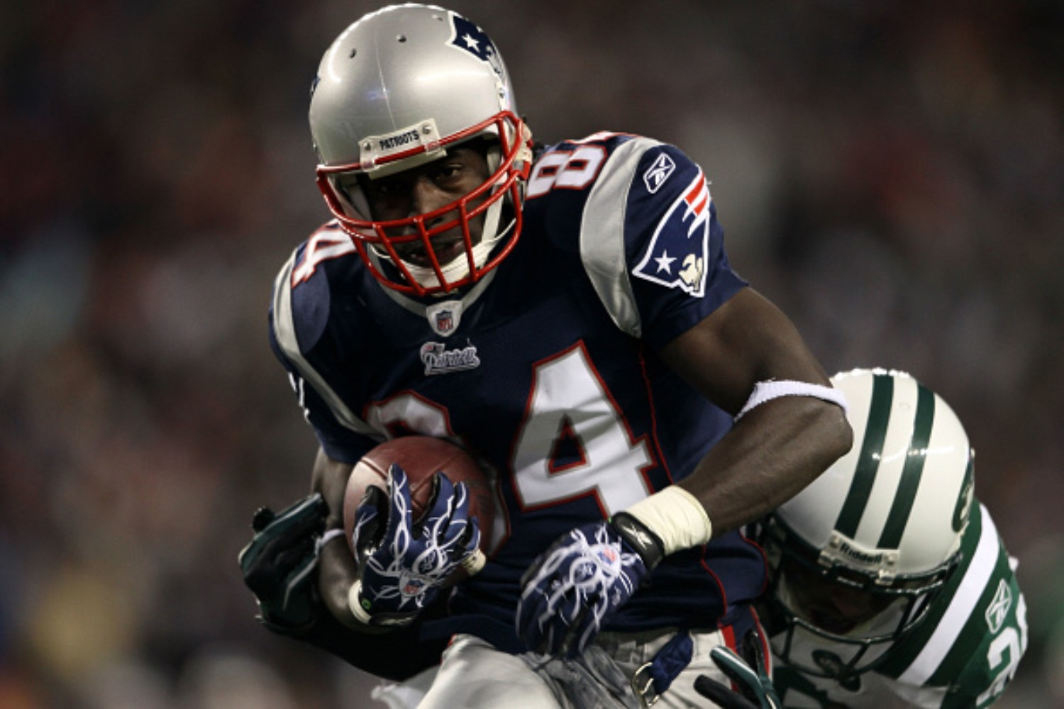 Deion Branch won multiple Super Bowls with the Patriots
