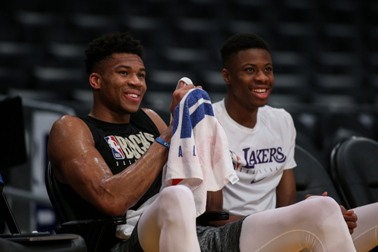 Giannis Antetokounmpo's younger brother is an NBA champion