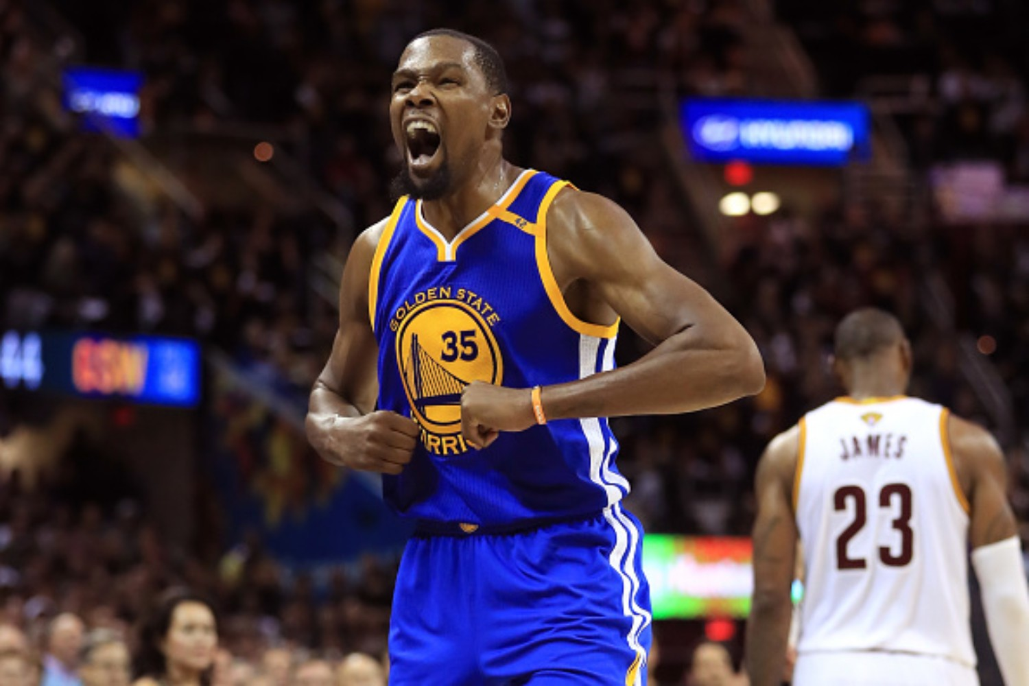 Kevin Durant doesn't think he took the easy route joining the Warriors