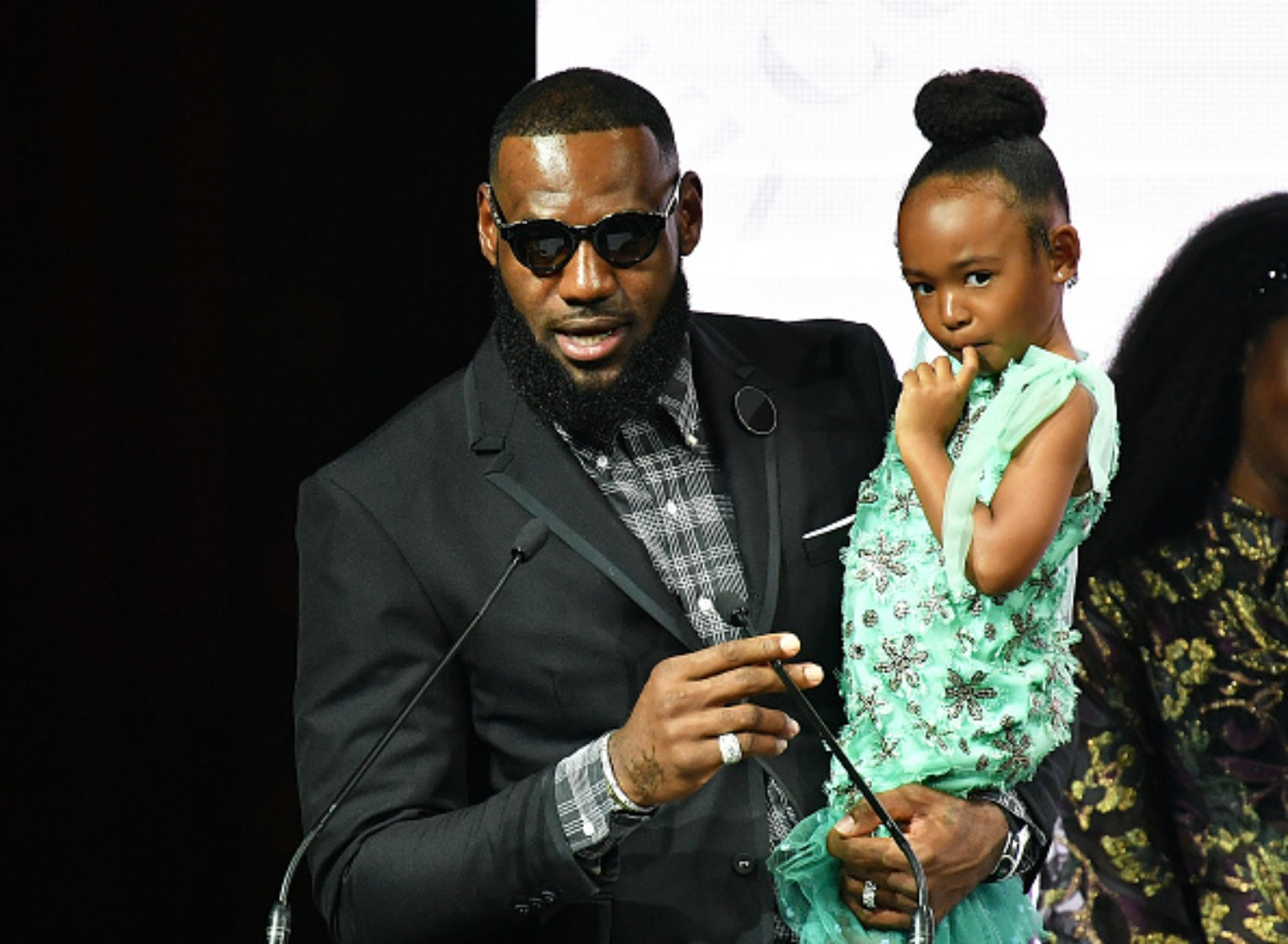 LeBron James gifted his daughter with a mini house for her birthday