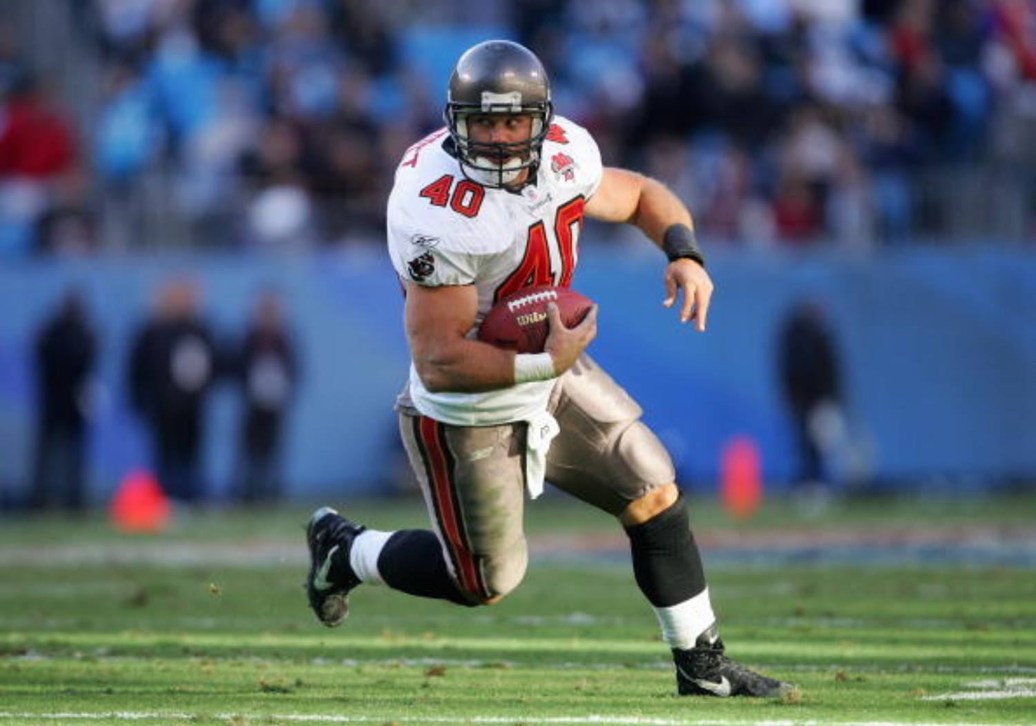 Mike Alstott had a successful career with the Tampa Bay Buccaneers
