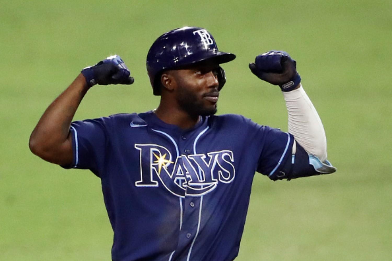 Randy Arozarena is making history for the Tampa Bay Rays
