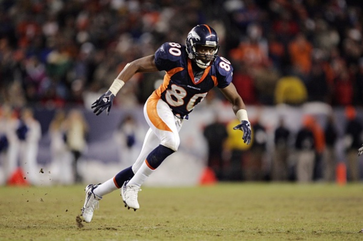 Rod Smith had an impressive career with the Denver Broncos