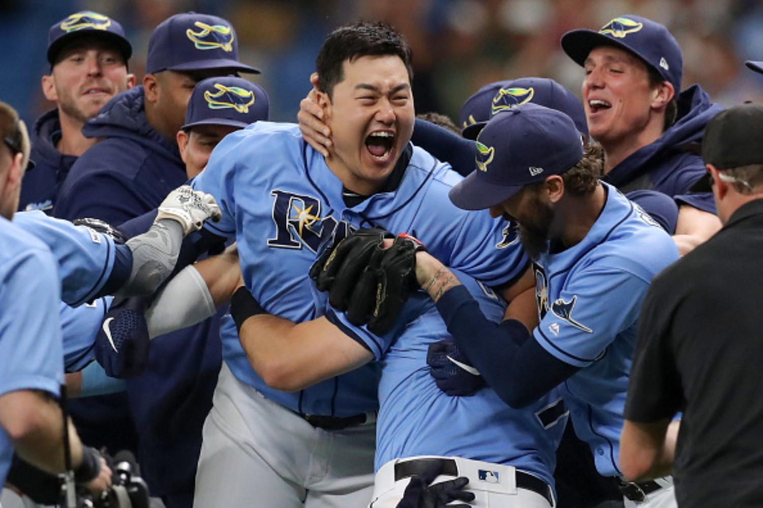 The Tampa Bay Rays are one series away from advancing to their second World Series appearance