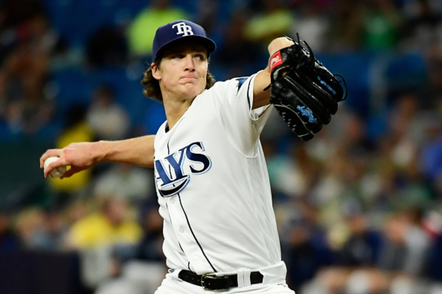 Tyler Glasnow has become a star for the Tampa Bay Rays