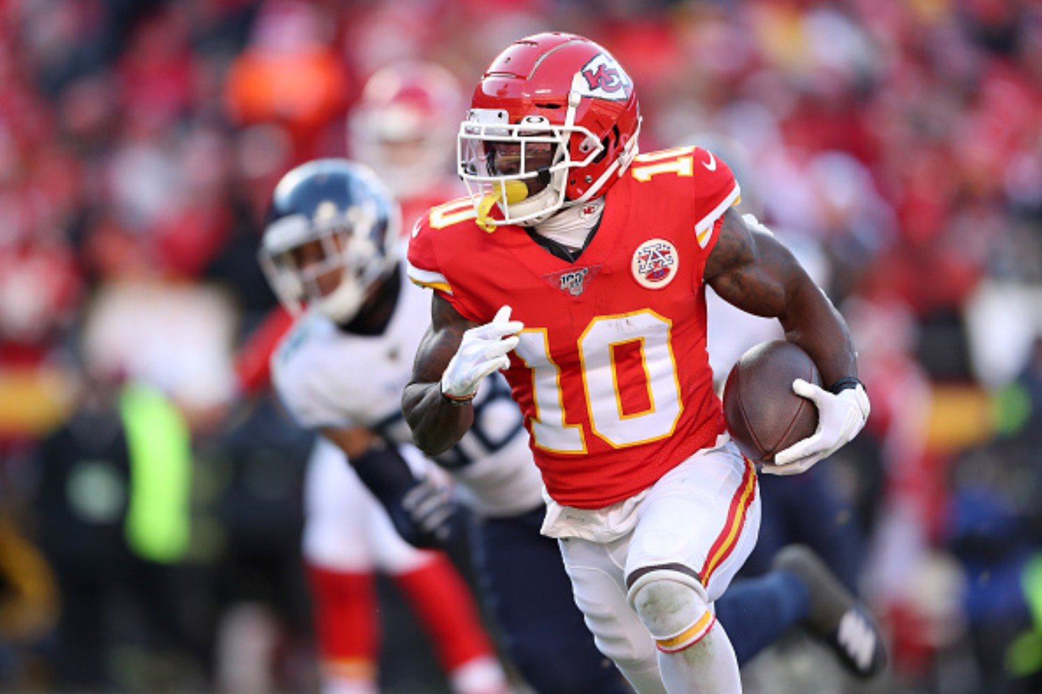 Tyreek Hill has battled through adversity to become an NFL champion