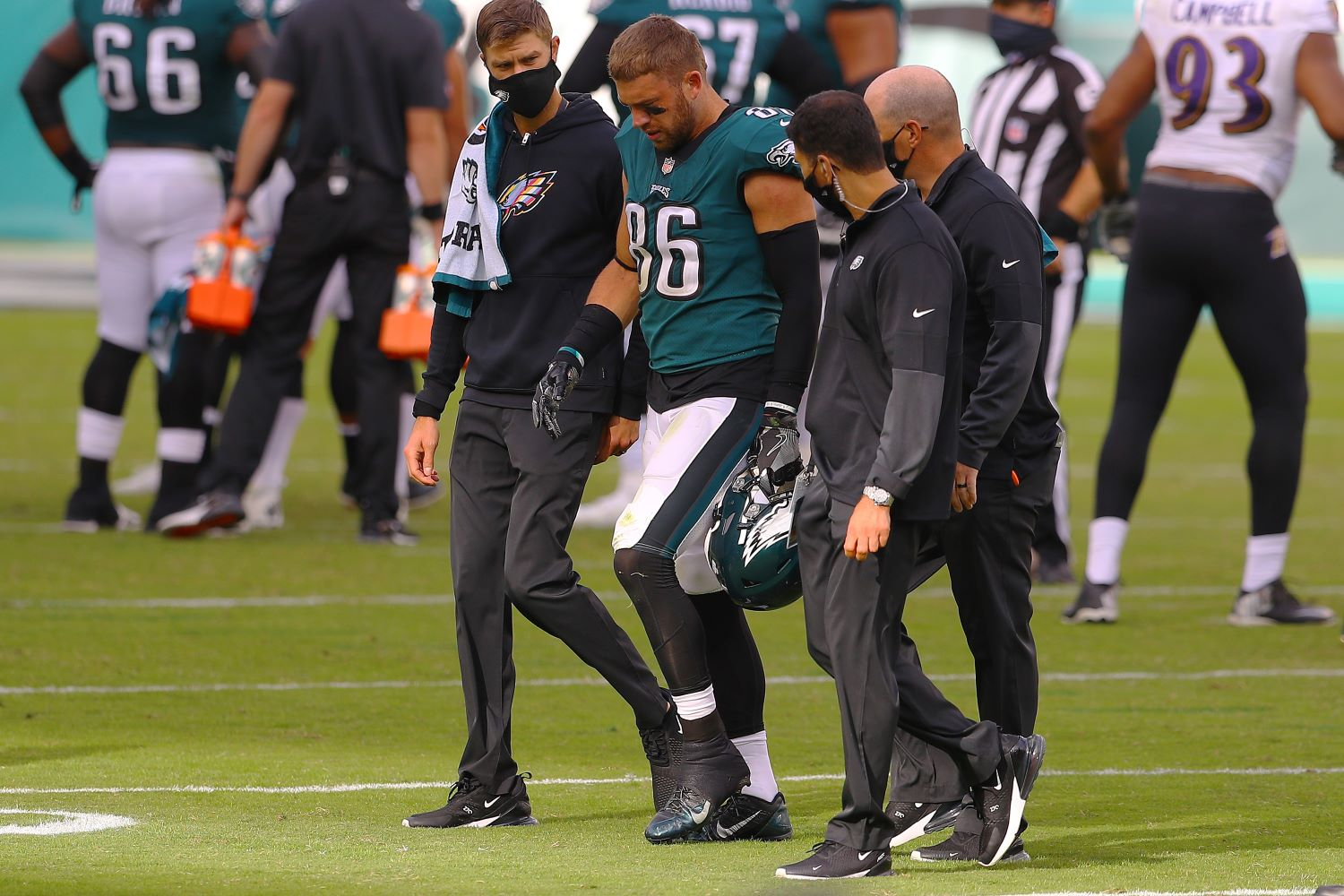 With Zach Ertz out for three to four weeks with an ankle injury, the Philadelphia Eagles just suffered a massive blow to their offense.
