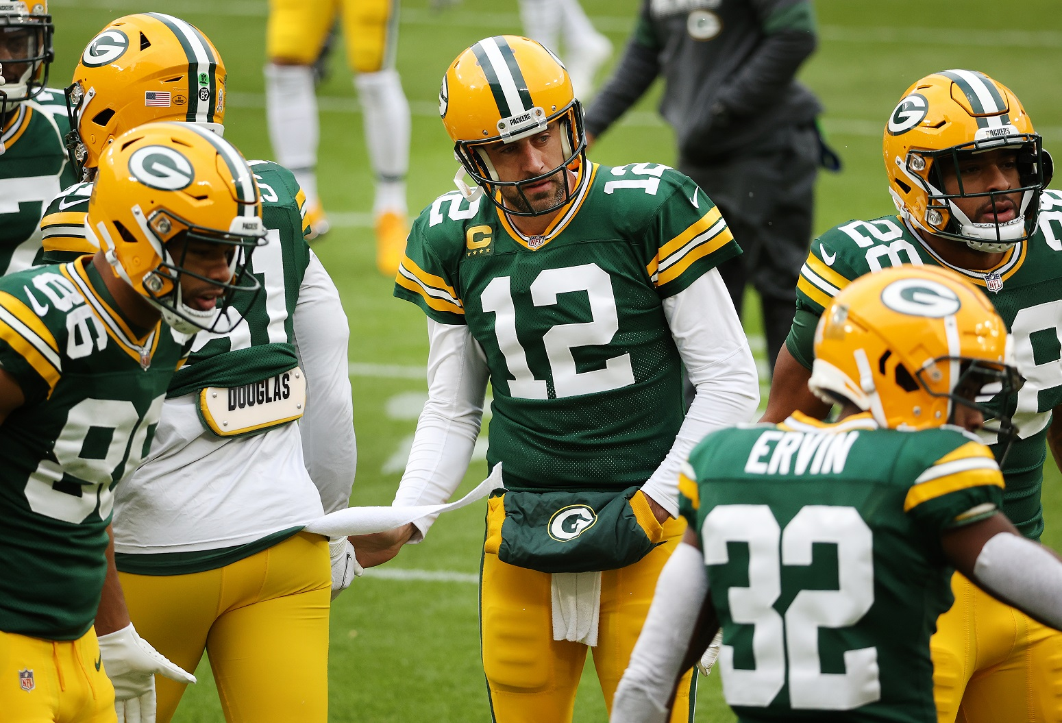 Aaron Rodgers subtle message Green Bay Packers trade rumors