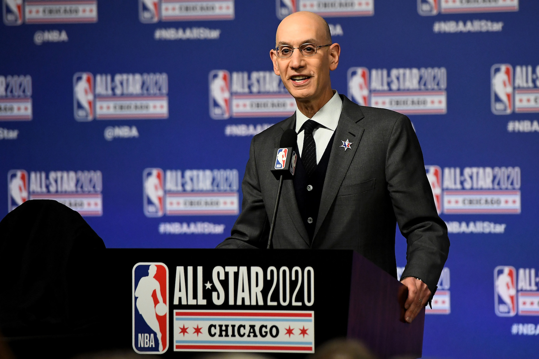 What is NBA commissioner Adam Silver's net worth?