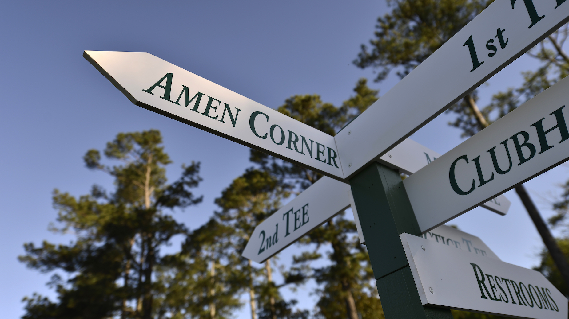 What is Amen Corner at The Masters and how did it get its name?