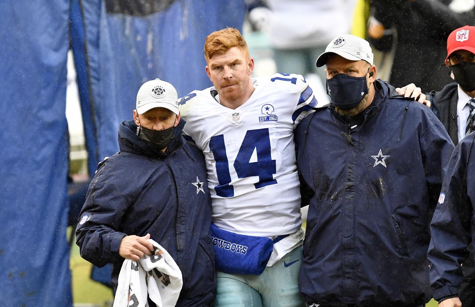 Andy Dalton Cowboys unexpected setback