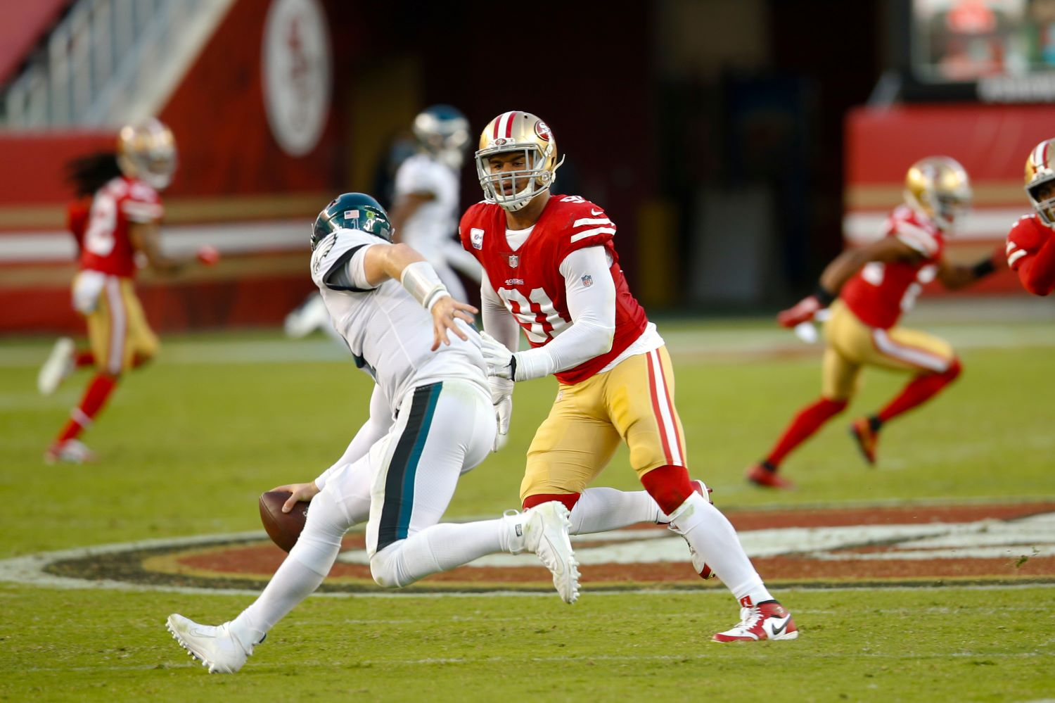 The 49ers had to place Arik Armstead on the reserve/COVID-19 list on Monday.