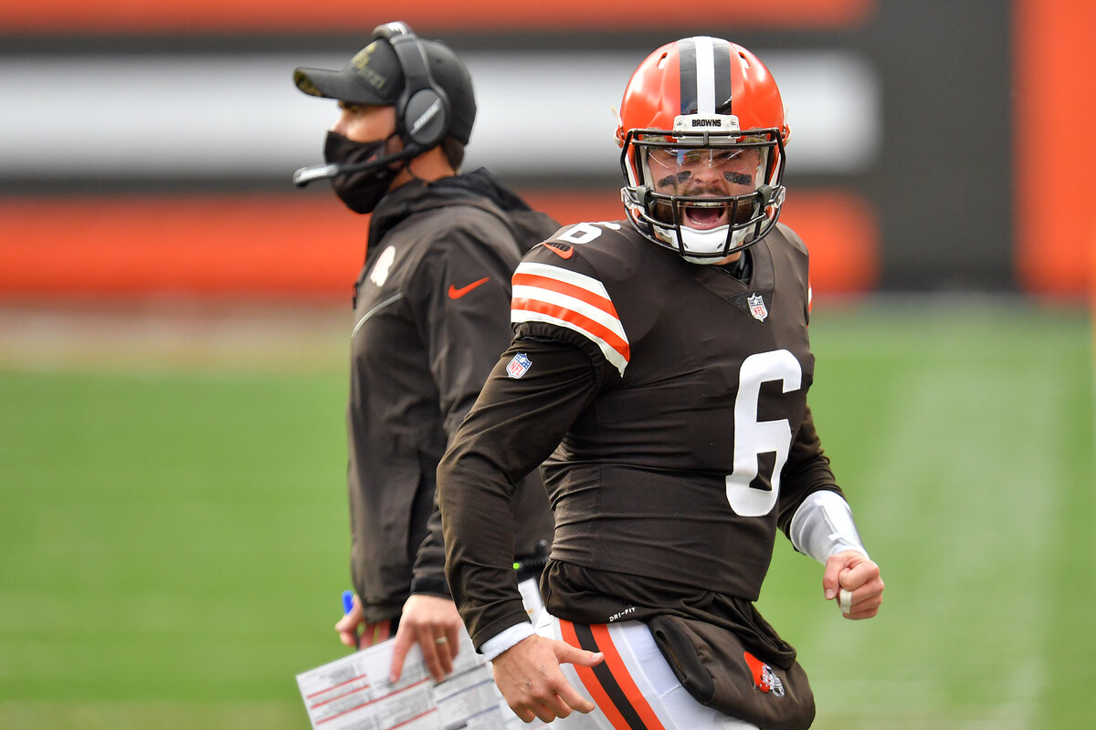 Cleveland Browns quarterback Baker Mayfield has had an inconsistent 2020 season. Mayfield is on pace to lose roughly $25 million next spring.