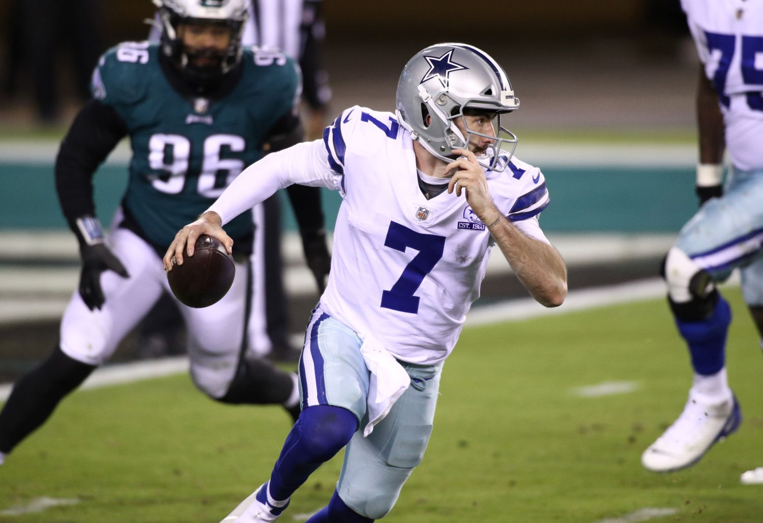 The Dallas Cowboys may bench quarterback Ben DiNucci for Cooper Rush, who has completed just one pass since entering the NFL in 2017.