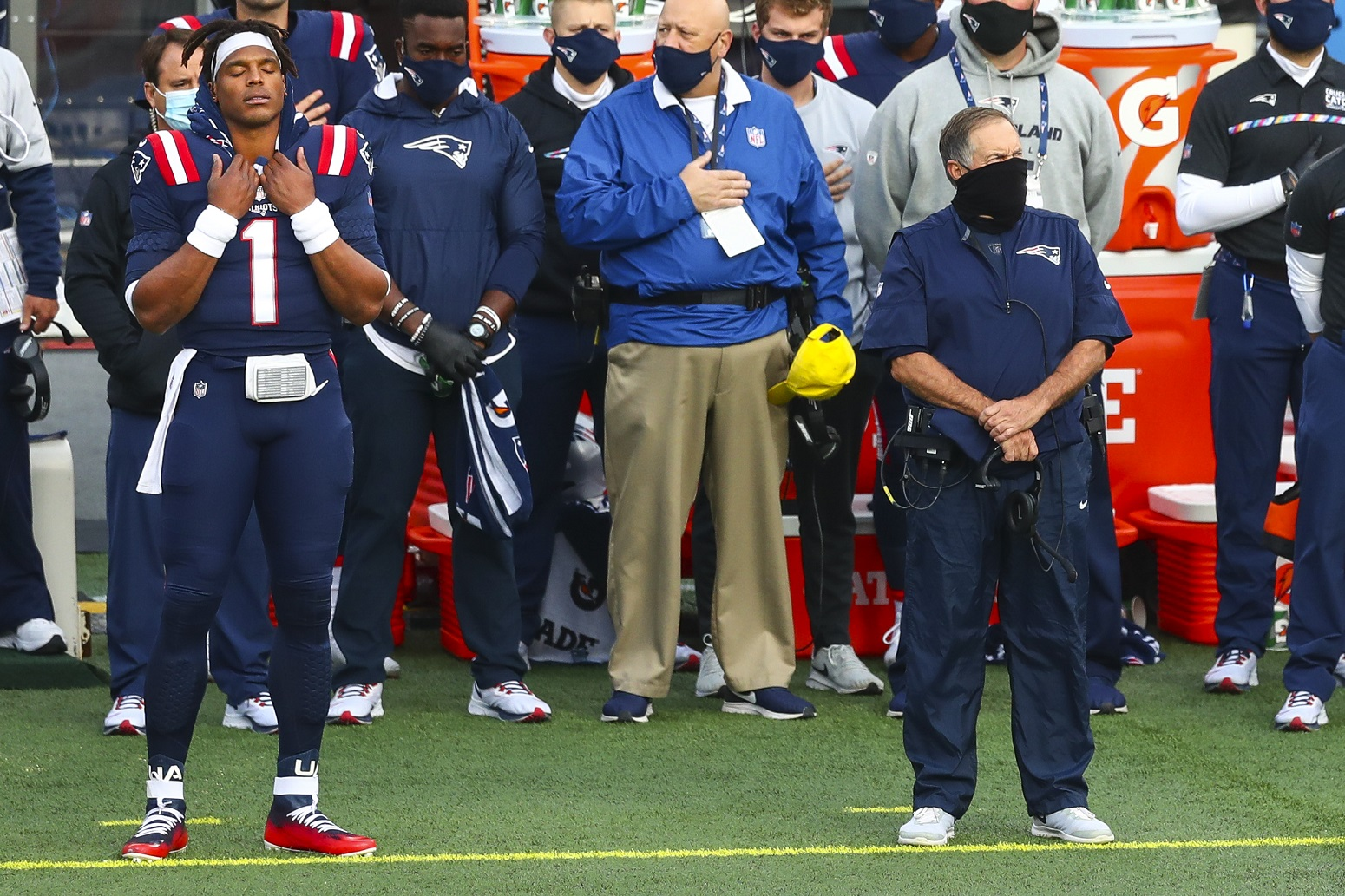 Bill Belichick Is Motivating Cam Newton In More Ways Than He Knows