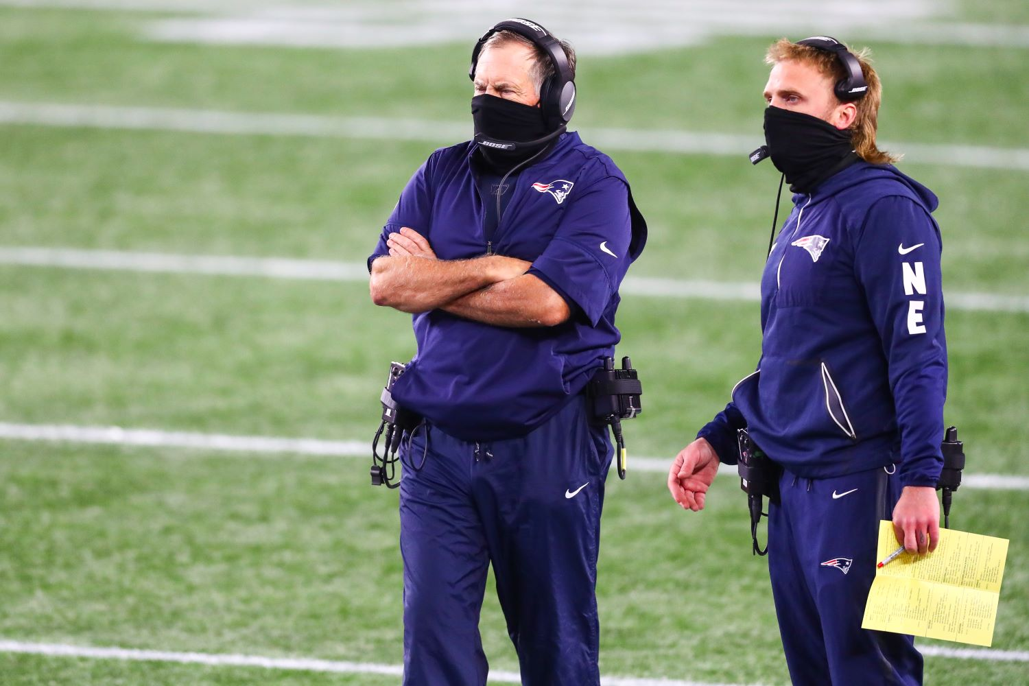 Bill Belichick finally admitted what Patriots fans have suspected all along: His son calls plays on defense.