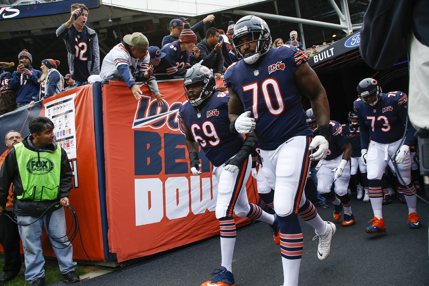 After a hot start, the Chicago Bears have struggled recently. Now, they will be without their $32 million man, Bobby Massie.