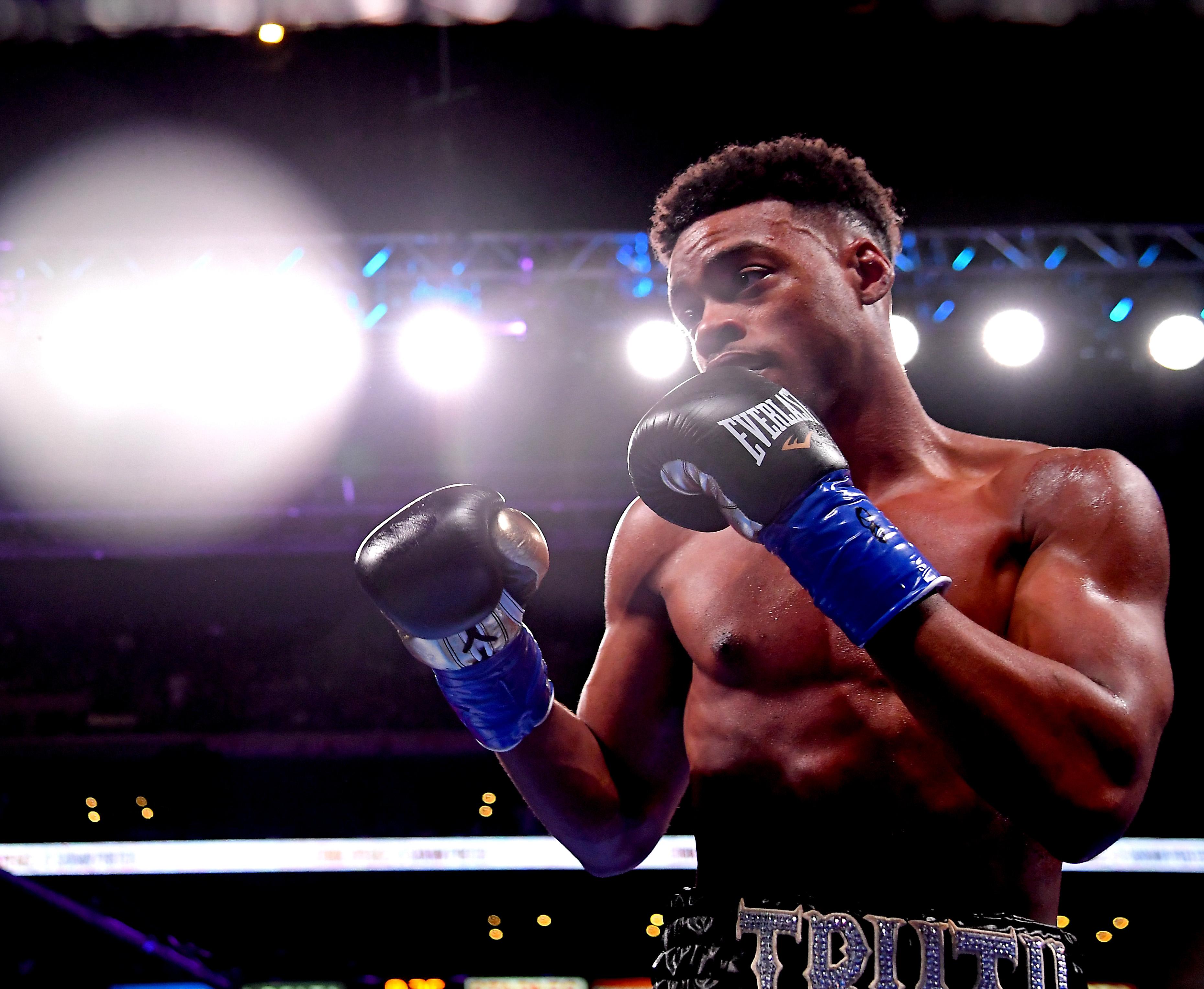 Boxer Erroll Spence Jr.