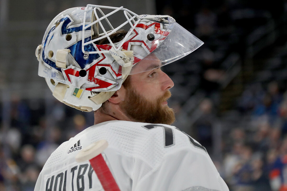 Vancouver Canucks goalie Braden Holtby has an unexpected problem on his hands. Holtby and his pet tortoises are currently stuck at the U.S.-Canada border.