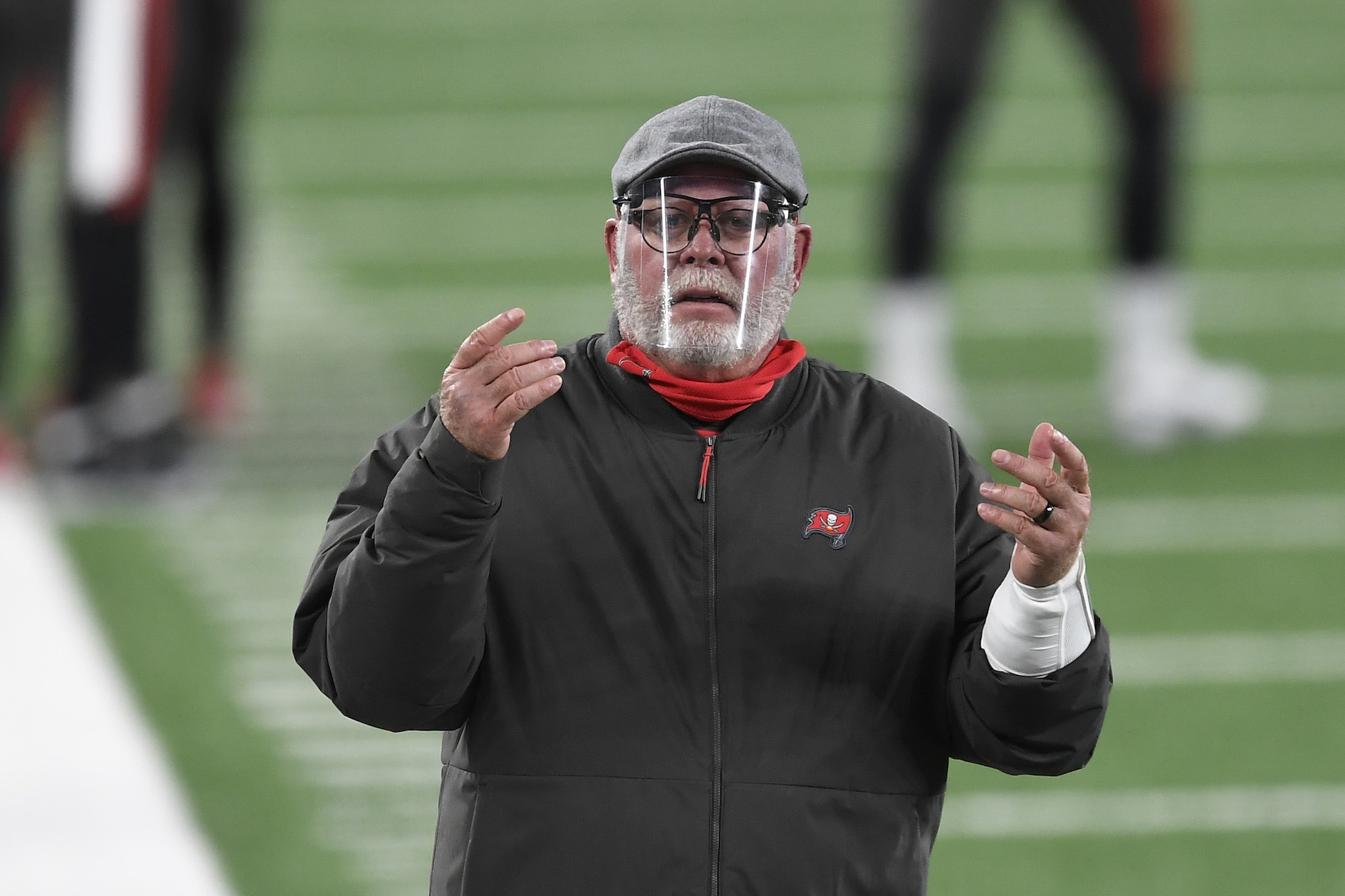 Could Bruce Arians' repeated shots at Tom Brady be an elaborate distraction.