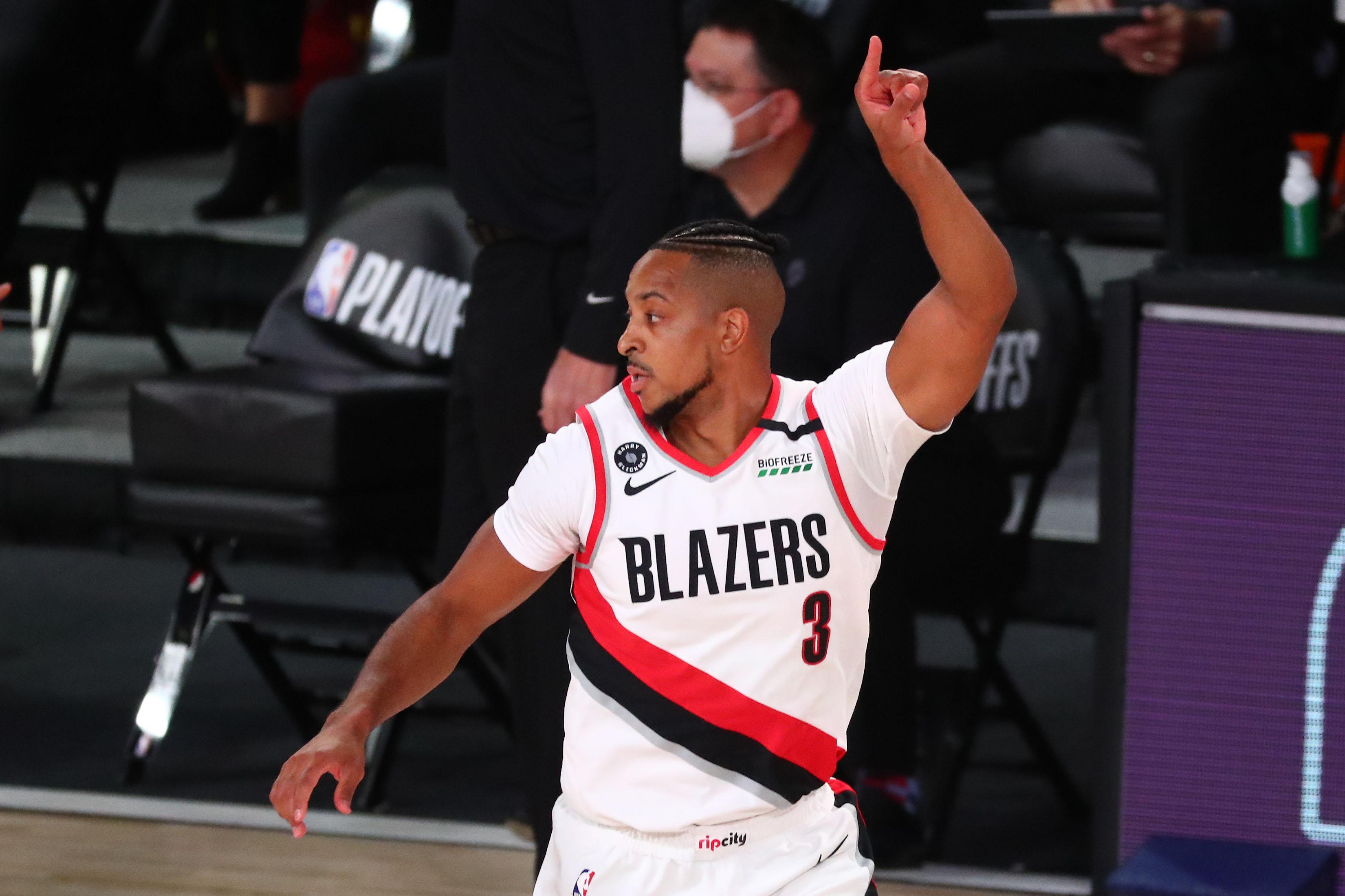Trail Blazers Guard CJ McCollum Turned His Hotel Room Into the NBA Bubble's Unofficial Wine Cellar
